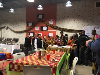 2018 December Kwanzaa Celebration Luncheon in Blessed Mother Teresa Academy